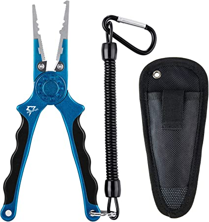 Fishing Pliers Split Ring Fishing Line Cutters Fishing Hooks Remover Fish Tackle