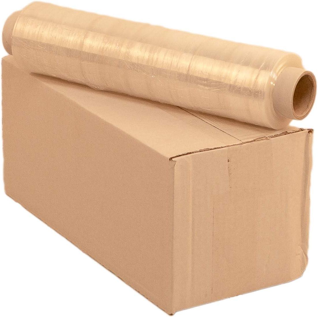 1 Rolle Stretchfolie 20 my Palettenfolie Wickelfolie Strechfolie Verpackungsfolie 500 x 300m