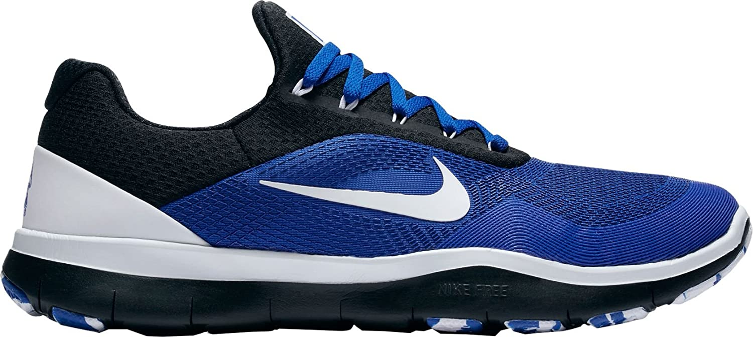 the best attitude 1e039 292bf Amazon.com  Nike Men s Duke Blue Devils Free Trainer V7 Week Zero College  Collection Shoes - AA0881-404 (11.5 M)  Clothing