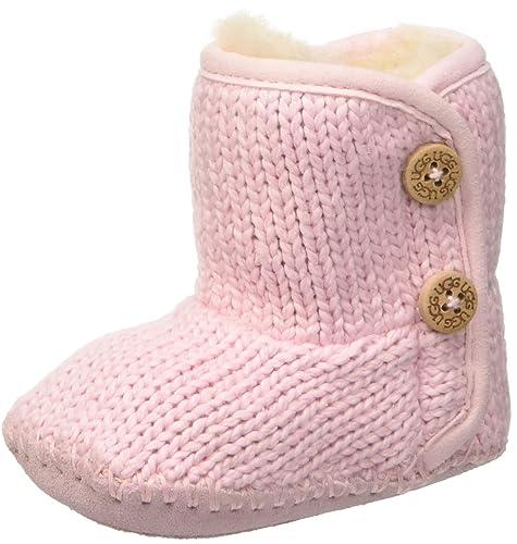 c97d3cf05ec UGG Australia Girls Infant Purl Boot Baby Pink Size 4/5: Amazon.ca ...