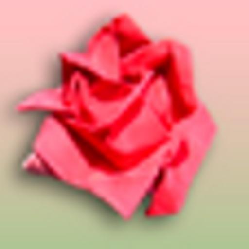 Tamagotchi Online Game - Origami Rose (virtual plant)