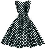 Bbonlinedress Women's Retro 1950s Vintage Swing Rockabilly Party Cocktail Dress