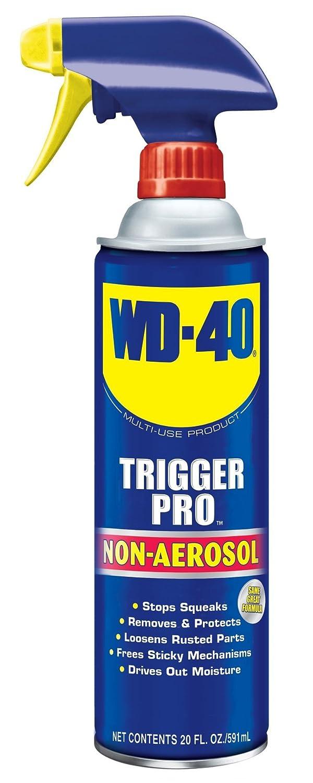 WD-40 Multi-Use Product - Multi-Purpose Lubricant with Non-Aerosol Trigger Pro Spray. 20 oz. (1 Pack)