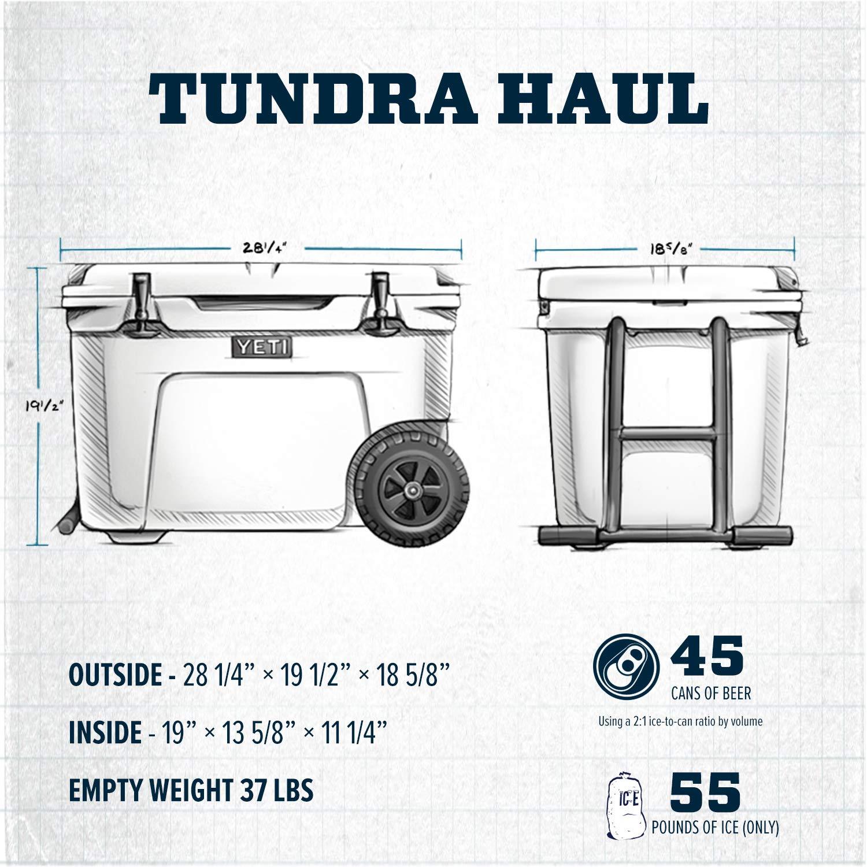 YETI Tundra Haul refrigerador portátil con Ruedas: Amazon.es ...