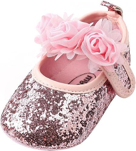 glitter pram shoes