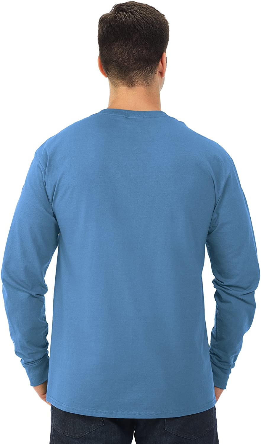 T-shirt a manica lunga 4930R in cotone robusto Fruit Of The Loom