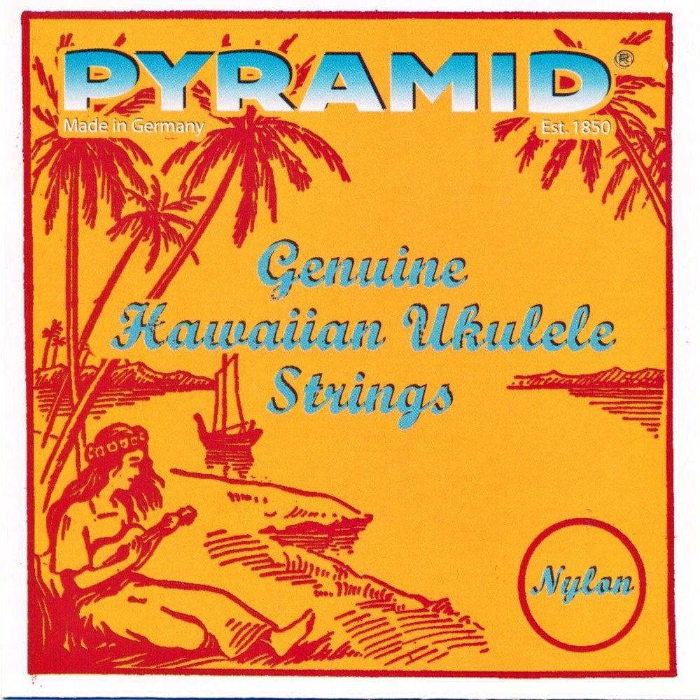 Pyramid Spiel-4Saiten Nylon für Sopran-Ukulele Standard