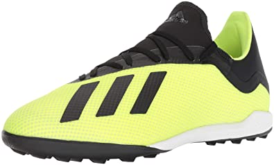 2730bd3d4 adidas Men's X Tango 18.3 Turf Soccer Shoe, Solar Yellow/Black/White,