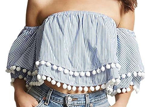 Lewi Brun - Camisas - Sin mangas - para mujer