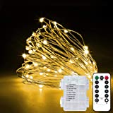 2 Pack 33Ft 10M Fairy Lights Indoor String Light Twinkle Lights with Remote for Bedroom Wedding Garden Patio Party…