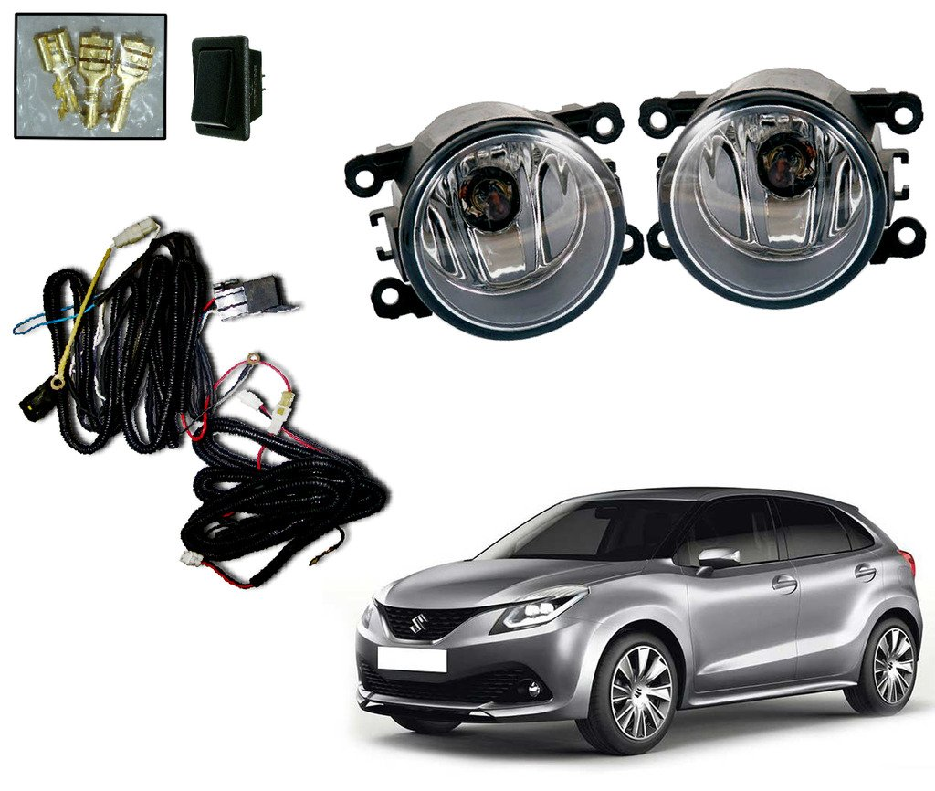 Auto Pearl Fog Lamp With Wiring Kit And Switch For Maruti Suzuki Universal L Diagram Swift Dzire Set Of 2 Car Motorbike
