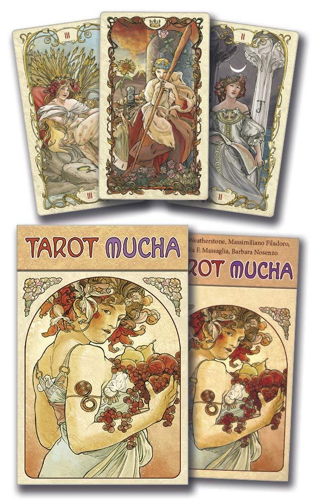 Tarot Mucha: Lo Scarabeo: 9780738745589: Amazon.com: Books