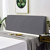 TOPOWN Funda para cabecero de cama, elástica, 180 – 200 cm, resistente al polvo,…