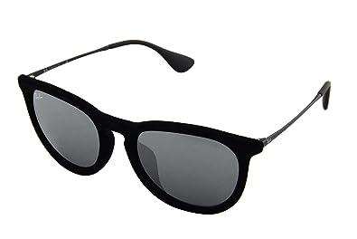 e12ec1210 Ray-Ban Womens Sunglasses Black/Silver Nylon - Non-Polarized - 54mm