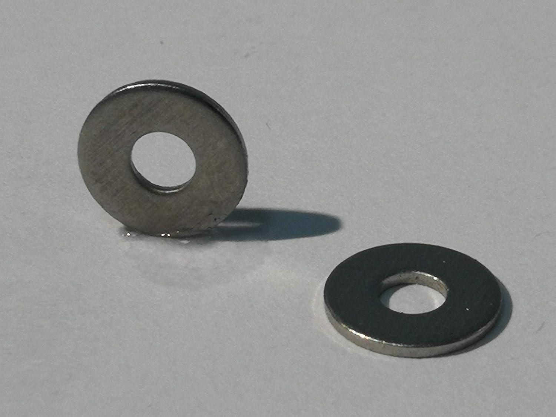 arandela Arandela de acero inoxidable A2 DIN 9021