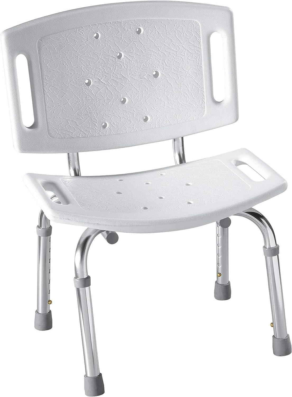 Moen DN3 Home Care Shower Chair, Glacier