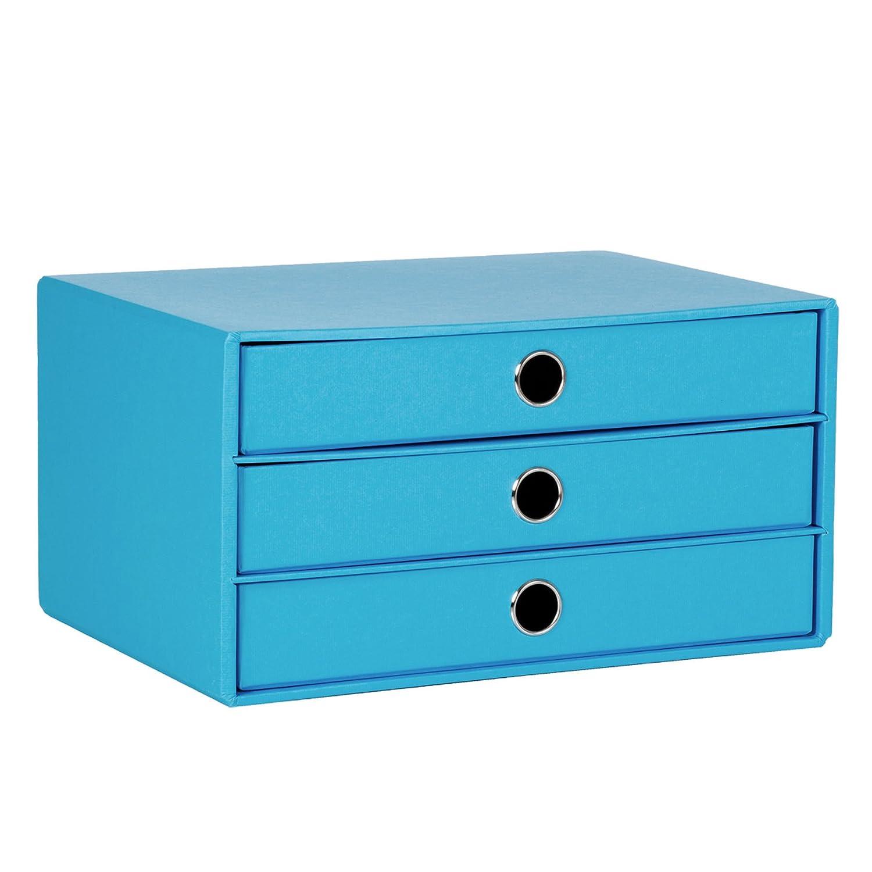 S.O.H.O cassetti Box DIN A4 3 Fach nero