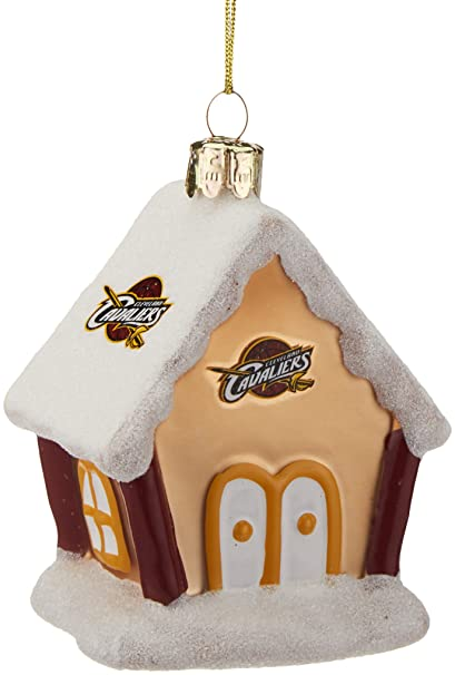 Amazon.com   NBA Cleveland Cavaliers Gingerbread House Ornament ... 1569115c6