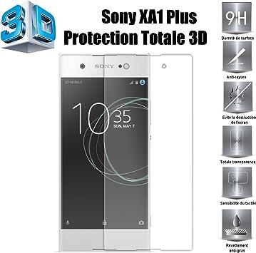 Sony Xperia XA1 Plus Protector de Pantalla, Scott-ES [Curvado 3D ...