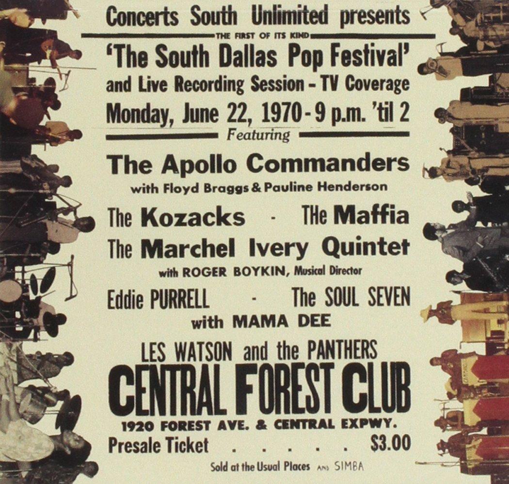 South Dallas Pop Festival 1970: Live
