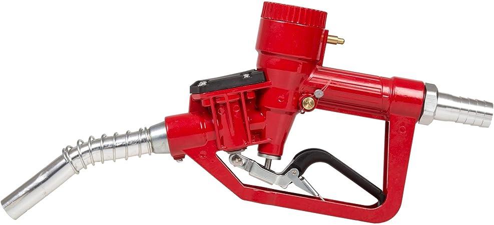 bis zu 60 Liter pro Minute an Durchfluss Zapfventilautomatik BLUREA Automatische Diesel-Zapfpistole mit digitalem Z/ählwerk 1 IG Retro-Design Hebelschutz