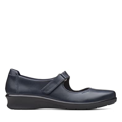 f186cd6d2b6e Clarks Hope Henley Leather Shoes in Navy  Amazon.co.uk  Shoes   Bags