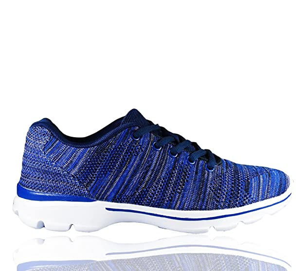 306f7798921 RoMaAn s IDeal Fashion Ladies Womens Running Sport Gym Fitness Walking Lace  up Trainers Shoes Size 3-8  Amazon.co.uk  Shoes   Bags