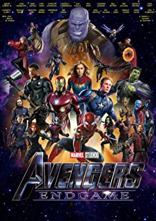 Zemfo Avengers 4 Endgame Poster Paper 12 X 18 Inches Amazon In