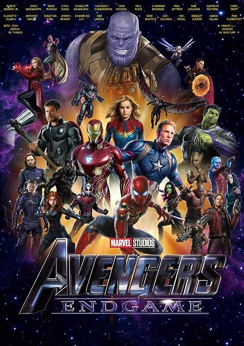Marvel Avengers Endgame Poster Avengers 4 Poster By Love St