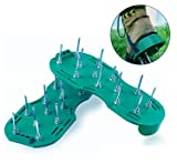 Amicc Lawn Aerator Sandals Shoes Grass Spiked Green Gardening Walking Revitalizing New