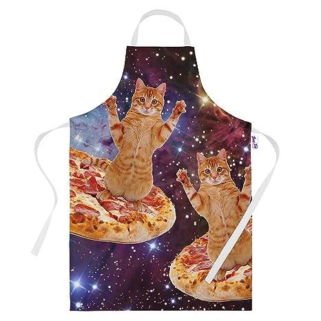 Tablier De Cuisine Humoristique Pour Homme Et Femme Pizza
