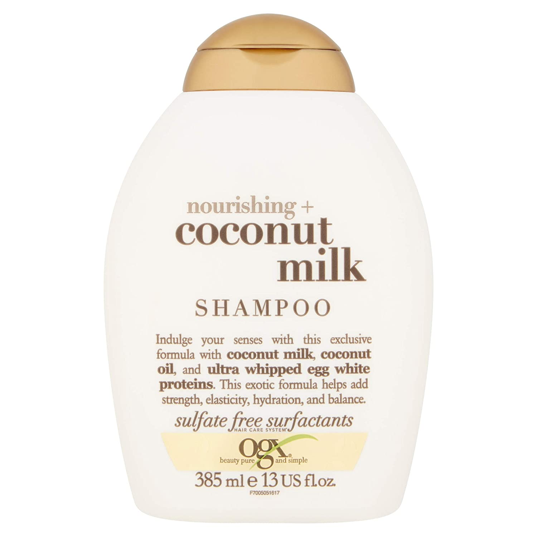 OGX Nourishing + Coconut Milk Shampoo 385 ml Vogue International 91005