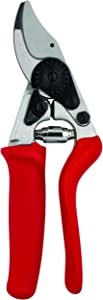 Felco Pruning Shears (F 15) - High Performance Swiss Made One-Hand Garden Pruner with Steel Blade