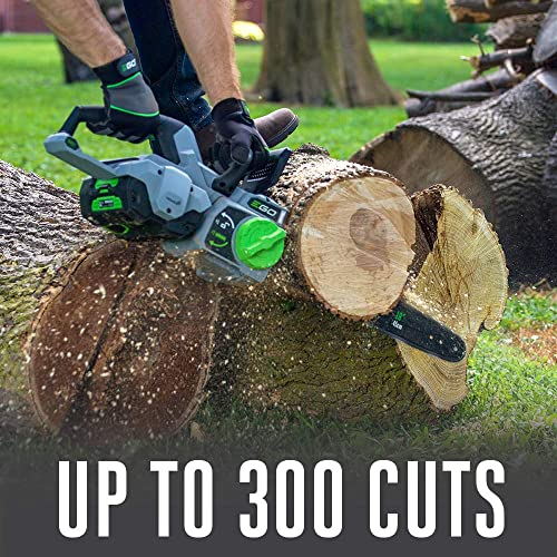 EGO Power CS1804 18-Inch 56-Volt Cordless Chain Saw 5.0Ah Battery and Charger Included
