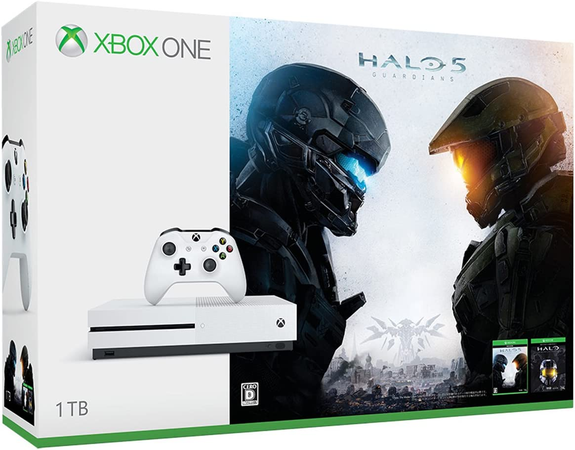 Xbox One S 1TB Halo Collection 同梱版 (234-00062): Amazon.es ...
