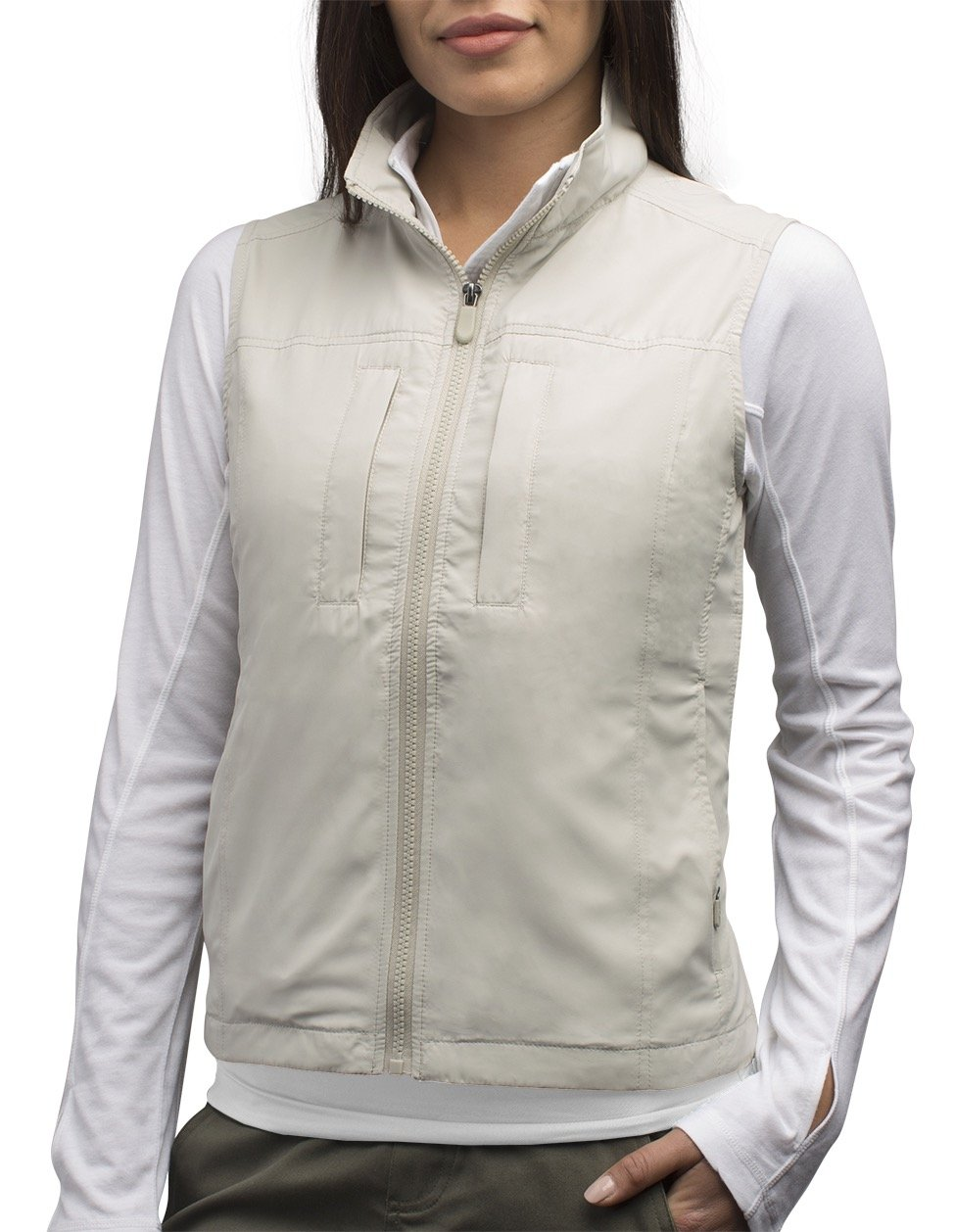 SCOTTeVEST Women's Featherweight Vest - 14 Pockets - Travel Clothing CMT M
