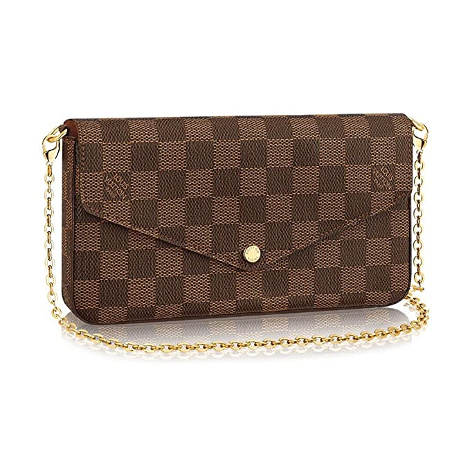 Louis Vuitton Damier Canvas Insolite Wallet n63547 fabricado en Francia