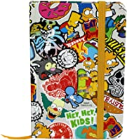 Caderno de anotações simpsons pop