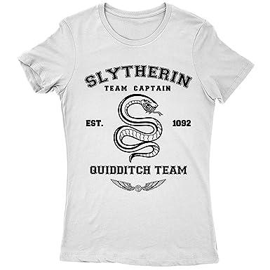 Shirt Potter Harry T Femme Team Hufflepuff 9207lw Slytherin Rq3jL54A