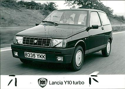 Vintage photo of Lancia Y10 turbo
