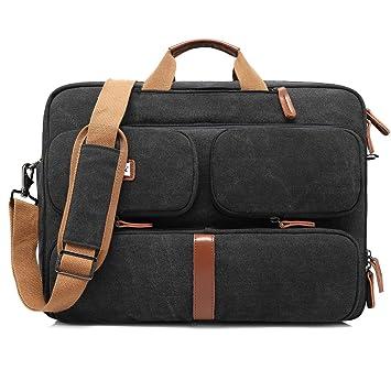 bc3a73d600755 CoolBell Convertible Laptop Tasche Rucksack Messenger Bag Umhängetasche Business  Aktentasche Multifunktions Reiserucksack 17