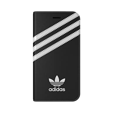 30a1fd17a1 adidas Originals Stripes Booklet Cover Case for Apple iPhone 7 - Black/White