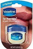 Vaseline Lip Therapy Original, .25 oz (Pack of 3)