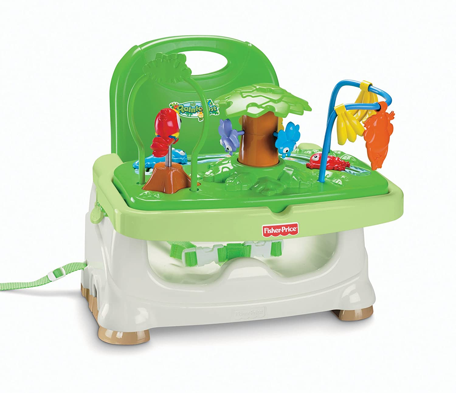 fisher price booster seat rainforest baby
