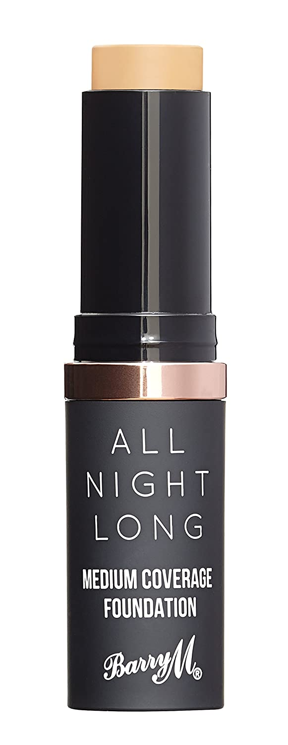 Barry M All Night Long Medium Coverage Foundation - Milk BMBE4 F-ANSF1