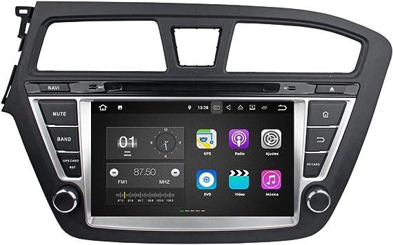 Android 7.1 Autoradio Coche para Hyundai I20(2014-2018) LHD ...