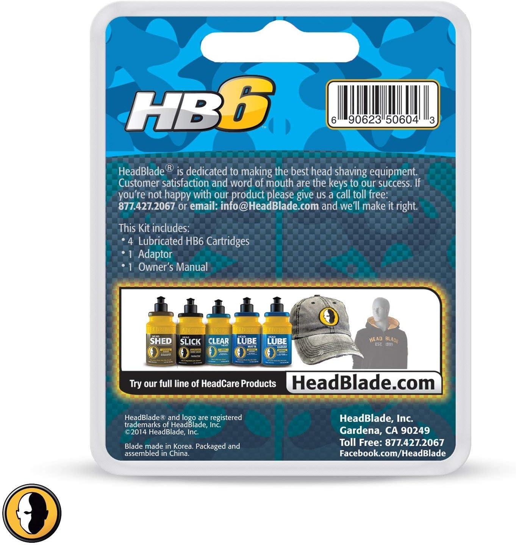 HeadBlade - Cuchillas de Rasurado 4 Piezas: Amazon.es: Belleza
