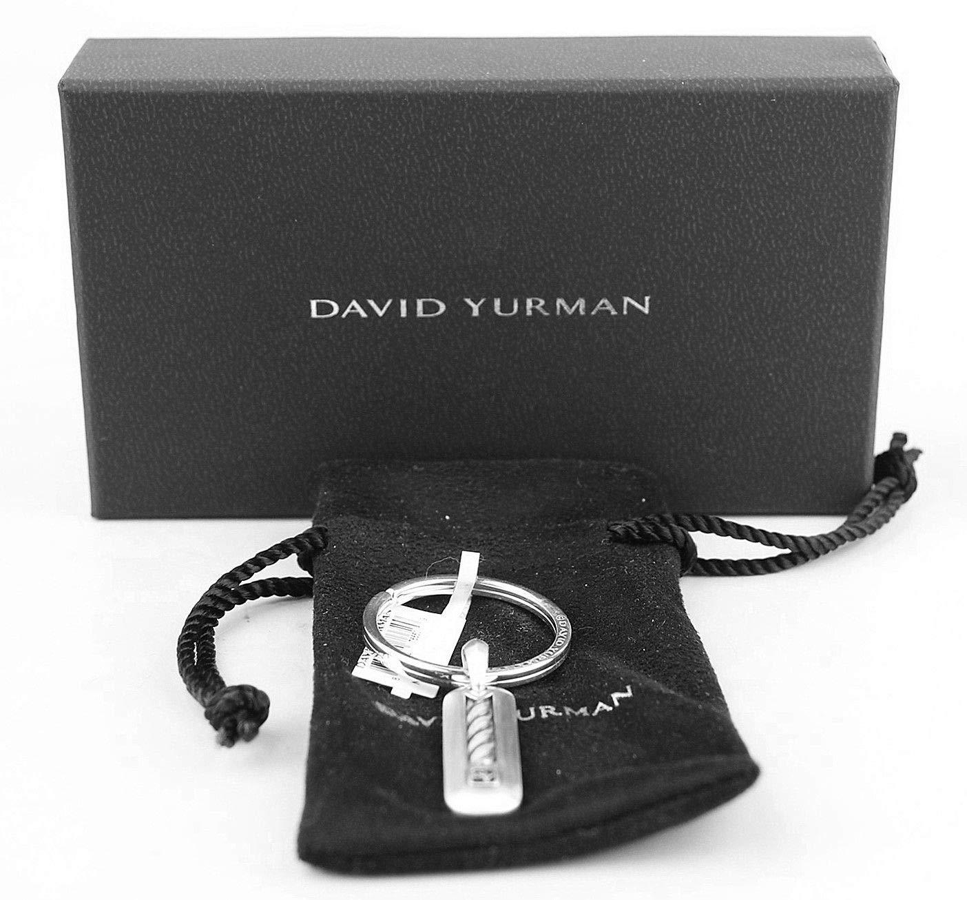 DAVID YURMAN STERLING SILVER CABLE CLASSICS KEY RING KEYCHAIN by David Yurman Silver (Image #7)