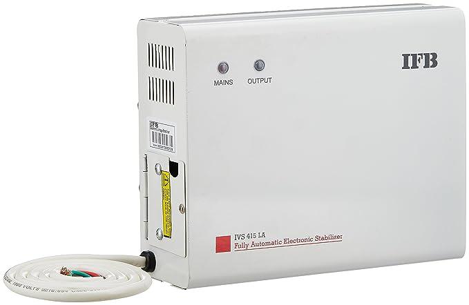 IFB IVS 415 LA 165-270V Voltage Stabilizer (White, Metallic Finish)