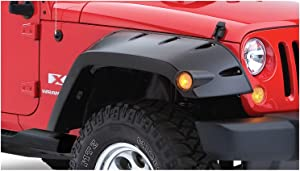 Bushwacker 10045-02 Jeep Pocket Style Fender Flare - Front Pair